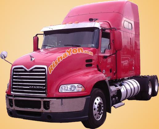 הוצאת רישיון על משאית